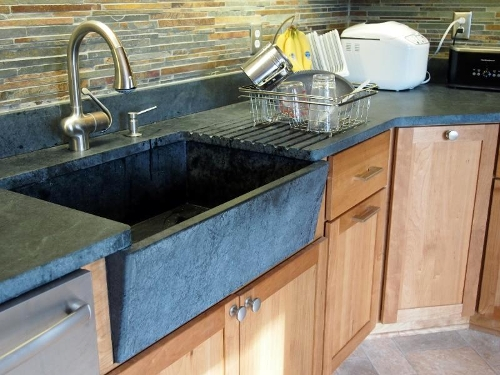 Soapstone Is Great For Indoor Or Outdoor Kitchen Countertops Bathroom Vanities Fireplace Surrounds Desk Tops Stair Treads Window Sills Other Stone