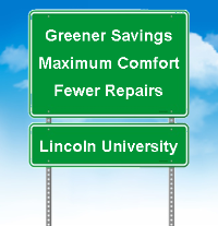 Greener Savings, Maximum Comfort, Fewer Repairs in Lincoln University