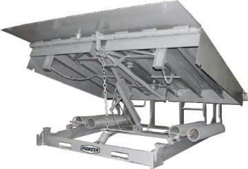 P2000 mechanical pit leveler offers higher capacities and additional features over the standard model C