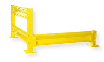 Loading Dock Equipment Steel Rails For Safety