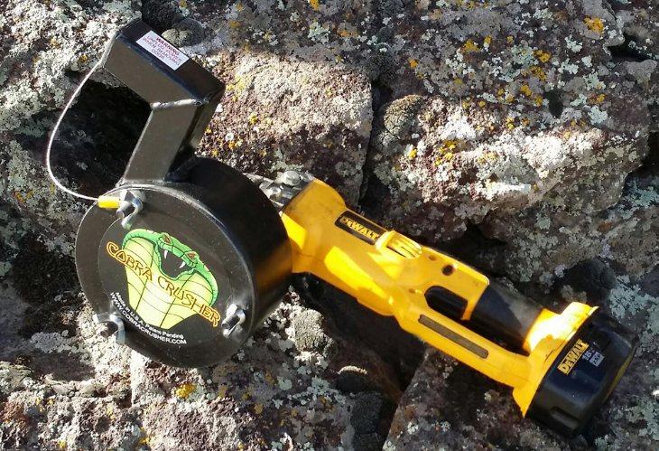 portable rock crusher