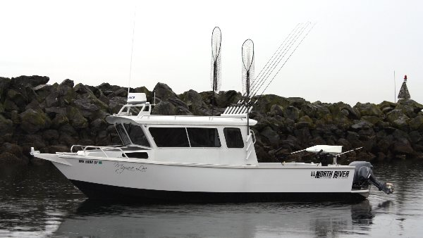 puget sound salmon fishing charter boat
