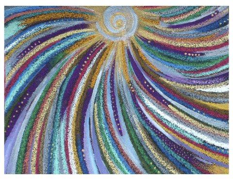 讓內在的真、善、美發光;讓生命充滿活力、自由與喜樂