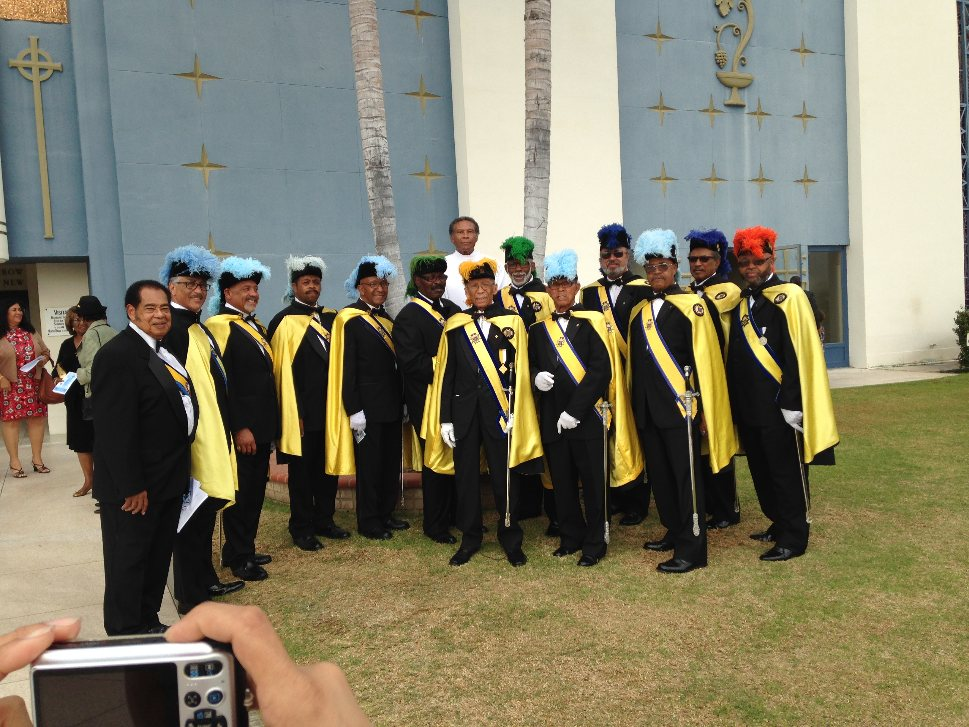Assembly 13 at the 2015 Mass for Deceased Members of the 4th Degree (See below photo)
