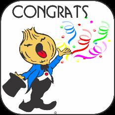 Congratulations Singing Telegram in Atlanta