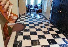 Foyer Tile Work