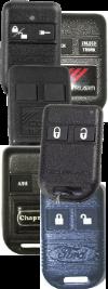 Code Alarm Chapman Ford Subaru Chrysler Mitsubishi Remotes