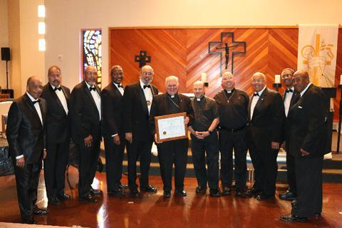 Las Vegas Bishop Pepe & Father Zanoni Exemplified into the 4th Degree