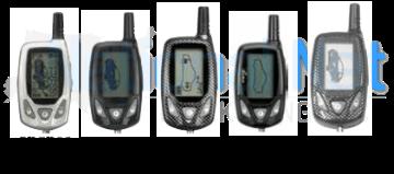 Prestige 2-Way LCD Remote Transmitters 5BCR03, 5BCR03B, 5BCR05P, 5BCR05PR, 5BLCTX