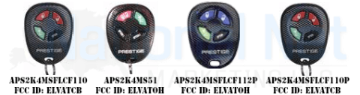 Hard to Find Prestige and Pursuit Keyless Entry Remotes