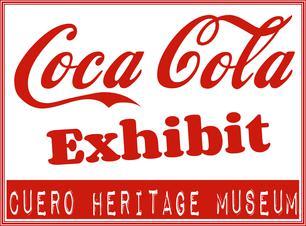 coca cola production in cuero exhibit