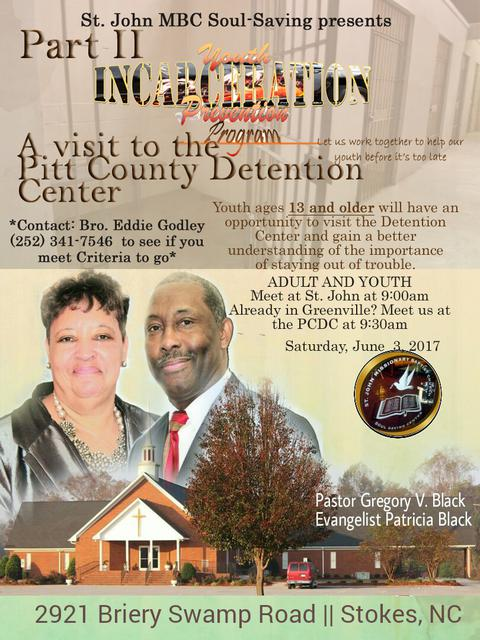 Youth Incarceration Prevention Ministry Part II