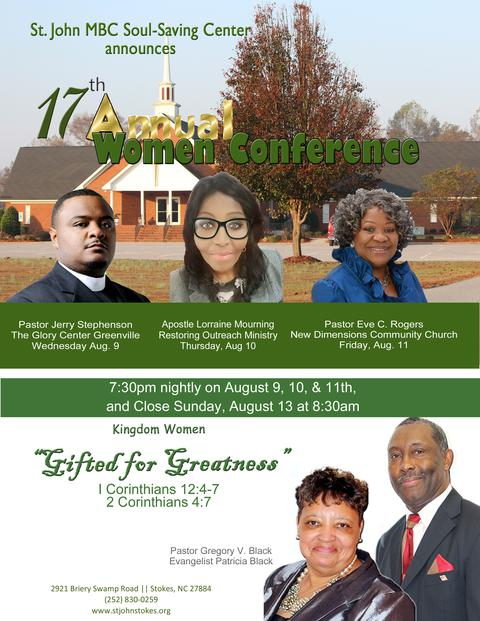 St. John's 17th Annual Women Conference