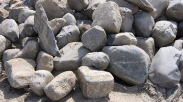 rounded boulders