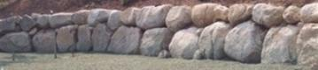Large Natural LI Boulder Wall