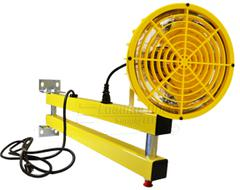 "24"" high pressure sodium dock light head"
