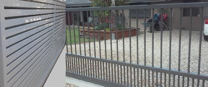 Brisbane Sliding Slat Gates