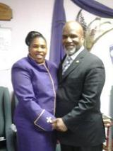 Pastor/Supt. Hall & First Lady