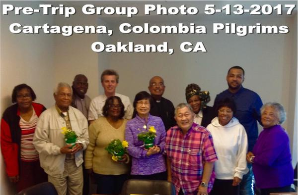 No. California Clavers' Pilgrimmage to Shrine of St. Peter Claver
