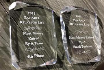 Local Union Wins Awards at 2018 Bay Area Relay for Life