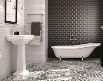 Bathroom Tile Flooring Bellevue, WA