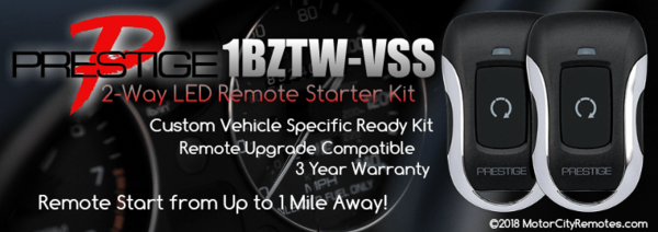 Voxx 1BZLR-VSS High-Performance Vehicle Specific Ready Remote Starter Kit