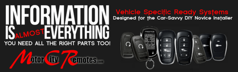 Vehicle Specific Remote Car Starter Kits
