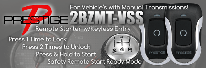 Remote Starter for Manual Transmissions