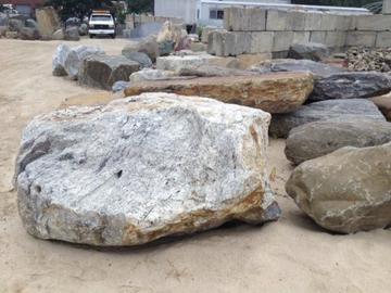 Granite Waterfall Pool Rock