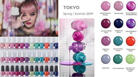 OPI Spring 2019 Tokyo