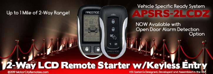 Voxx APSRS-2LCDZ 2-Way Remote Starter