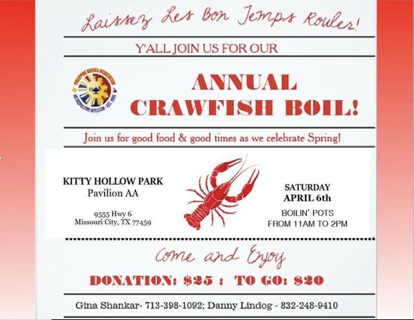 Annual Crawfish Fest Fling