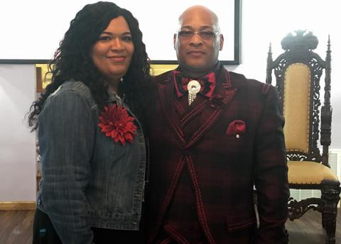Senior Pastor, Tommy R. Twitty & Elect Lady, Nicole Twitty