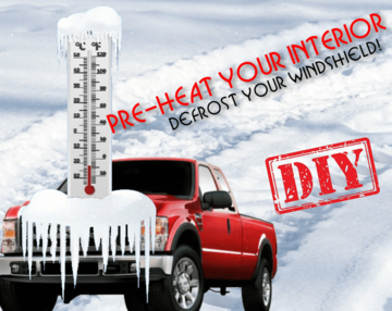 Pre-Heat and Defrost you Ford Super Duty Diesel