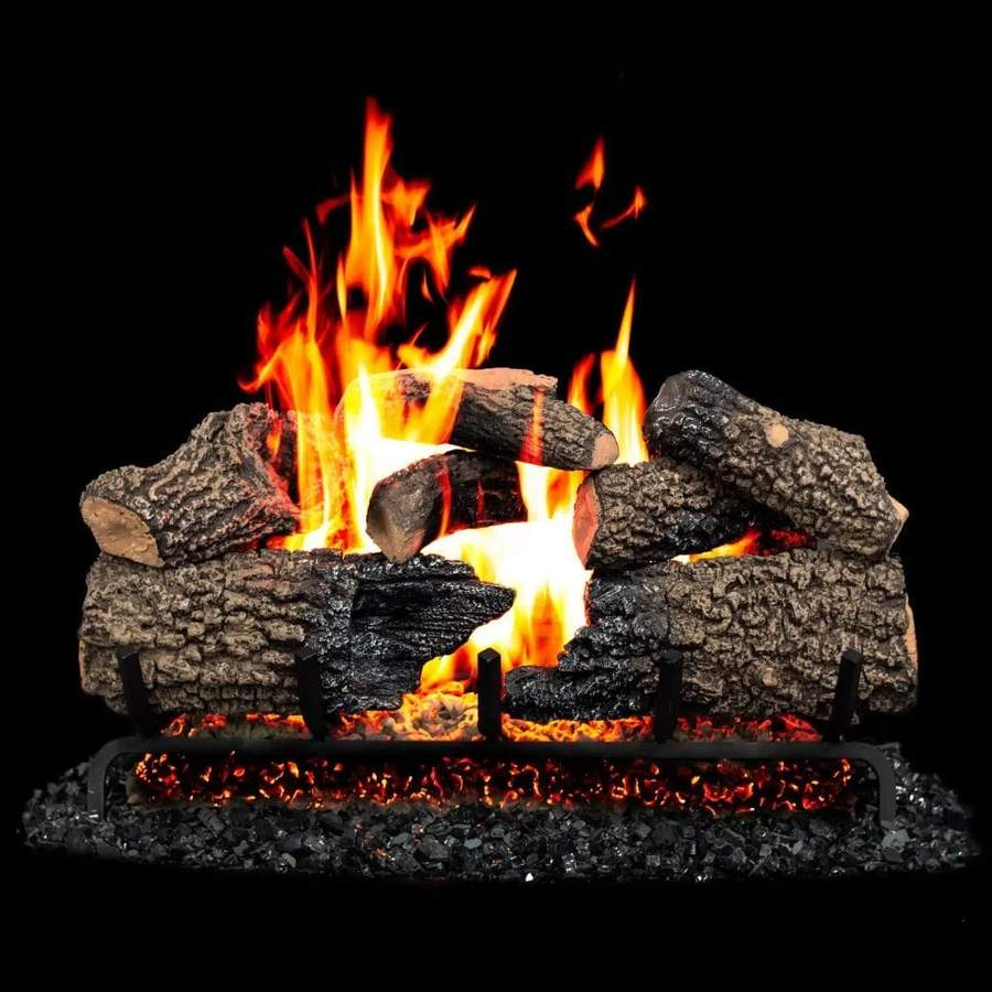 Gas Logs and Fire Glass