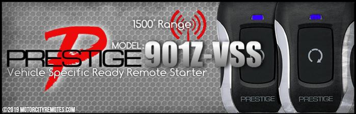 Prestige APS901Z Remote Starters