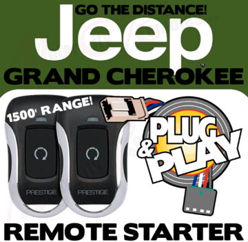 JEEP GRAND CHEROKEE PLUG AND PLAY REMOTE STARTER KIT