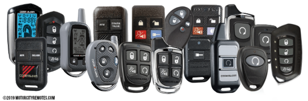 Code Alarm, Prestige, Pursuit Replacement Remote Transmitter Key FOB's