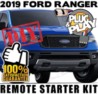2019 Ford Ranger Plug Play Remote Starter Kits