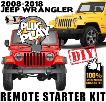 2008-2018 JEEP WRANGLER PLUG AND PLAY REMOTE STARTER