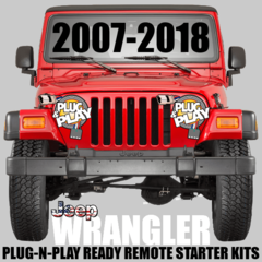 JEEP WRANGLER VEHICLE SPECIFIC Plug n Play REMOTE STARTER