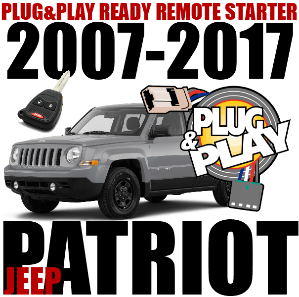 JEEP PATRIOT PLUG AND PLAY REMOTE START