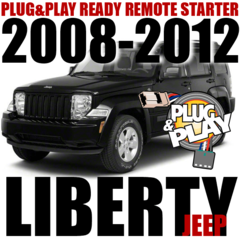 JEEP LIBERTY VEHICLE SPECIFIC REMOTE STARTER