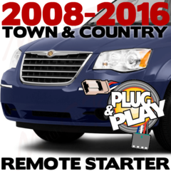 2008-2015-2016 CHRYSLER PLUG AND PLAY REMOTE START TOWN AND COUNTRY