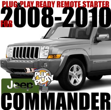 JEEP COMMANDER PLUG N PLAY REMOTE STARTER KIT