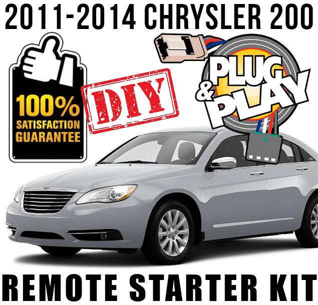 Plug n Play Chrysler 200 Remote Starter