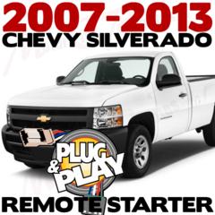 2007-2013 Chevrolet Silverado Plug n Play Remote Starter Kits