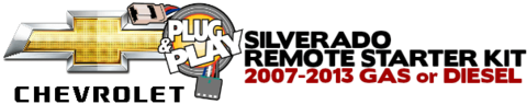 Chevy Silverado Plug Play Remote Starter