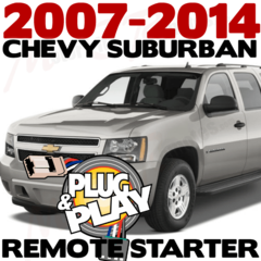 Chevy Suburban Plug n Play Remote Starter Kits
