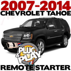 Chevrolet Tahoe Plug n Play Remote Starter Kits